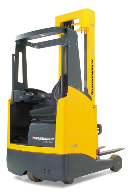 jungheinrich s etm etv 214 216 electric reach trucks offer. Black Bedroom Furniture Sets. Home Design Ideas