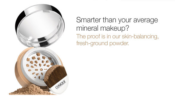 Clinique launches New Superbalanced Powder Makeup SPF 15 Mineral Rich