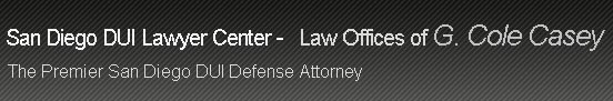 New San Diego DUI Lawyer Website