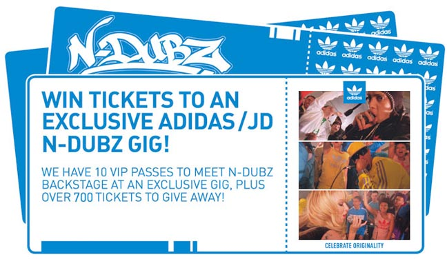 JD Sports To Put On Exclusive N-Dubz Gig For Customers