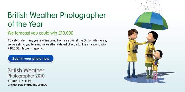 Lloyds TSB Is Searching For The The Weather Photographer of the Year