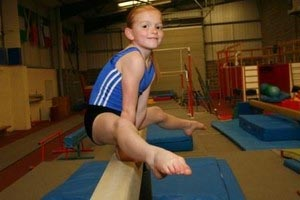 Young Gymnast To Train With Olympic Hopeful