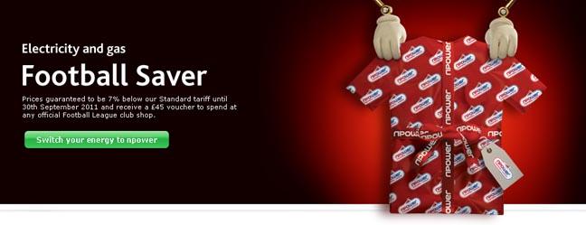 npower Celebrates Football League Partnership With New Football Saver Tariff