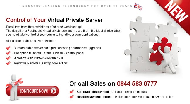 Fasthosts Debuts Virtual Server Range