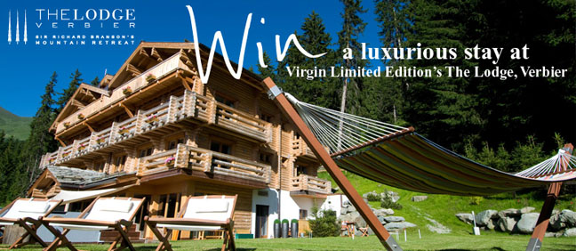 Crew Clothing Co Launches Free Prize Draw To Stay At The Lodge In Verbier
