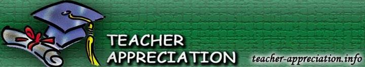 Finally it is Teacher Appreciation Week
