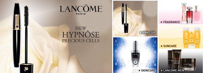 House of Fraser Makes Lancôme Available Online