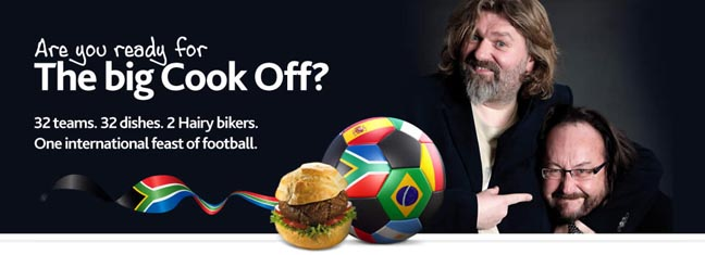 npower Kicks Off A Football-Filled Summer With The Hairy Bikers