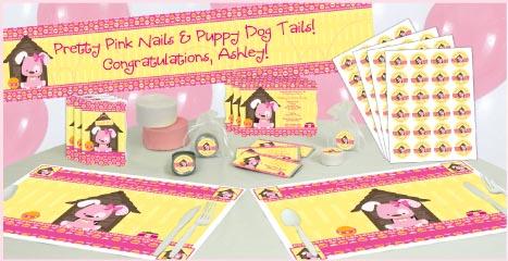 BabyShowerStuff.com Introduces New Puppy Dog Baby Shower Themes