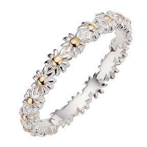 Ernest Jones Announces Online Launch Of Daisy Stack Ring Collection