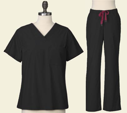 Innovator of High Performance Lab Coats and Medical Apparel Introduces Clinician Scrubs in Black