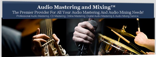 New Web Site For Online Audio Mastering And Mixing